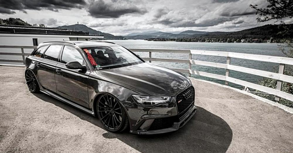 碳纖式樣!VOLXZONE 全新 Audi RS6 Avant 曝光!